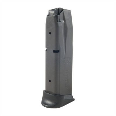 Available in 40 S&W  40 S&W magazines are available in 12 round capacities  Steel body ...