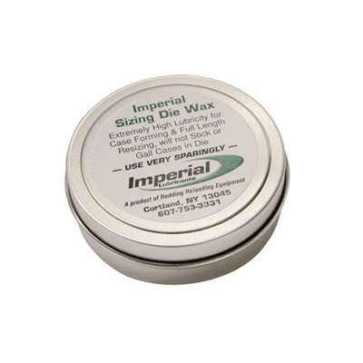 Imperial Sizing Die Wax-2 Oz. Redding.