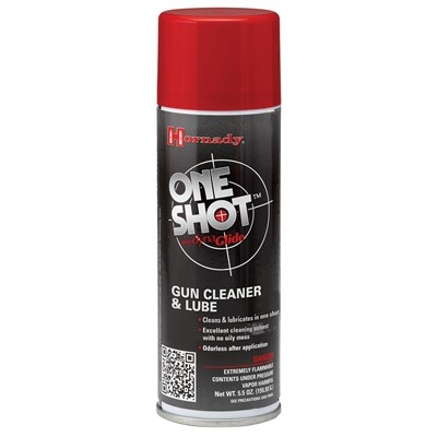 One Shot Cleaner And Dry Lube - 7 Oz. Aerosol Hornady.