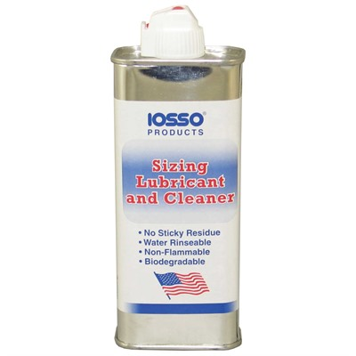 Sizing Lubricant And Cleaner Iosso Products