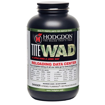 Hodgdon Titewad Powder Hodgdon Powder Co., Inc..