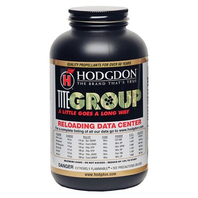 Hodgdon Titegroup Powder Hodgdon Powder Co., Inc..