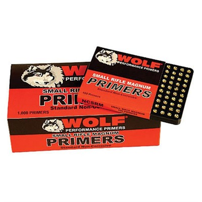 Rifle Primers Wolf.