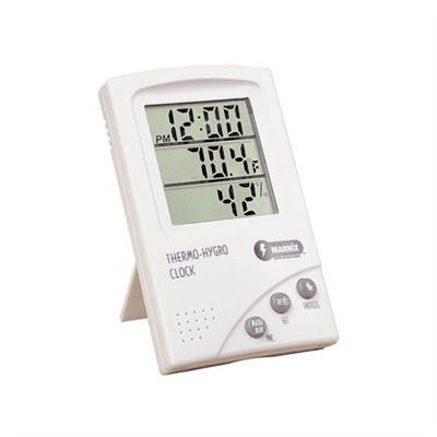 Keep accurate load data records of temperature and humidity with this portable Hygrometer /Thermometer. Our model includes a digital clock which is selectable ...