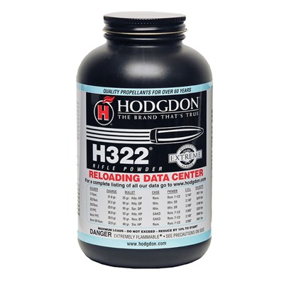 Hodgdon Powder H322 Hodgdon Powder Co., Inc..