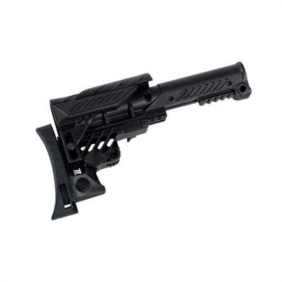 AR-15/M16 Rifle Sniper Adjustable Buttstock by Command Arms Acc