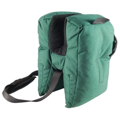 "The Small Bench Bag sits a pistol or rifle barrel about 8"" above the bench. This bag works well with any rifle, ..."