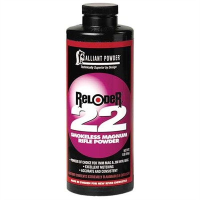 Reloder 22 Powder Alliant Powder.