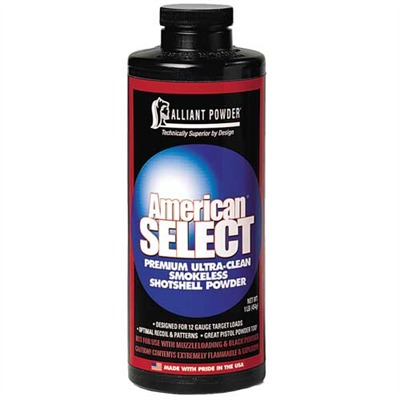 American Select Shotshell Powder Alliant Powder.
