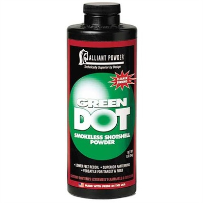 Green Dot Powder Alliant Powder.