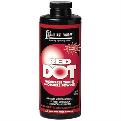 Red Dot Powder Alliant Powder.