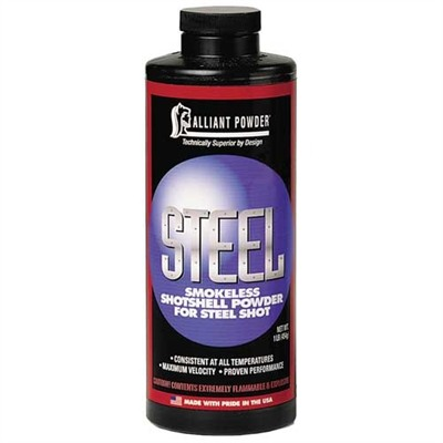Steel Shotshell Powder Alliant Powder.