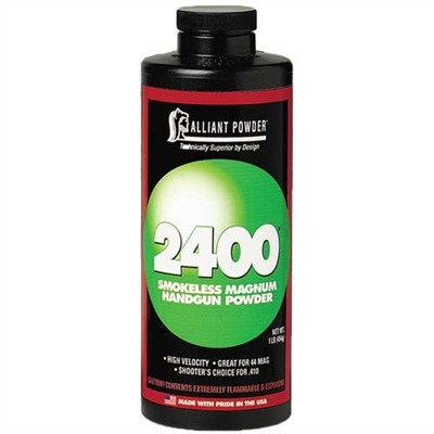 2400 Smokeless Powder Alliant Powder.