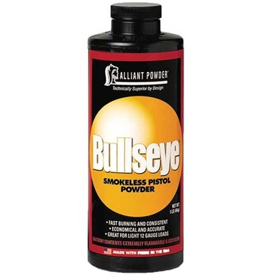 Bullseye Powder Alliant Powder.