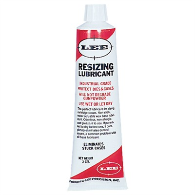 Resizing Lubricant Lee Precision.