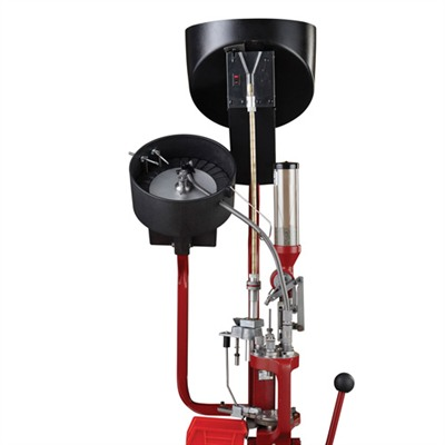 Turns your Lock-N-Load Auto Progressive Press (AP) into a bench-mounted ammo factory. Large hopper automatically feeds up to 200 jacketed or plated pistol ...