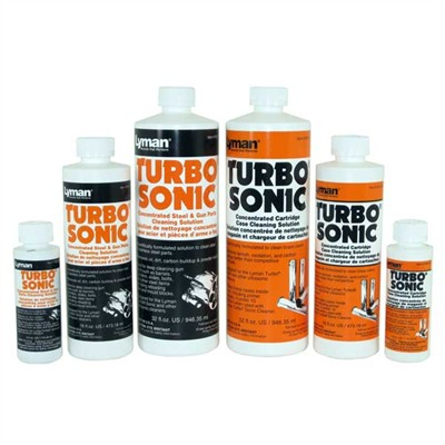Turbo Sonic Cleaning Solutions And Accessories Lyman
