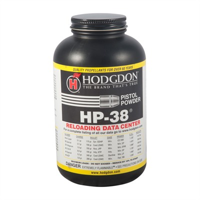 Hp38 Smokeless Powder Hodgdon Powder Co., Inc..