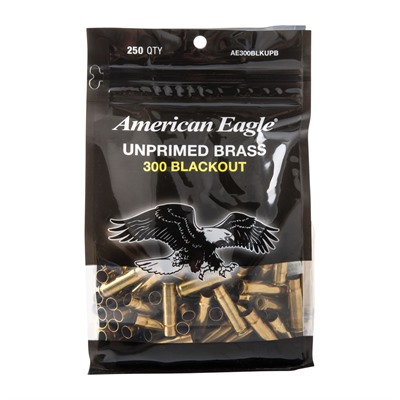 300 Blackout Unprimed Brass American Eagle.
