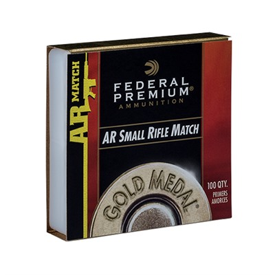 Gold Medal Ar Match Small Rifle Primers Federal.
