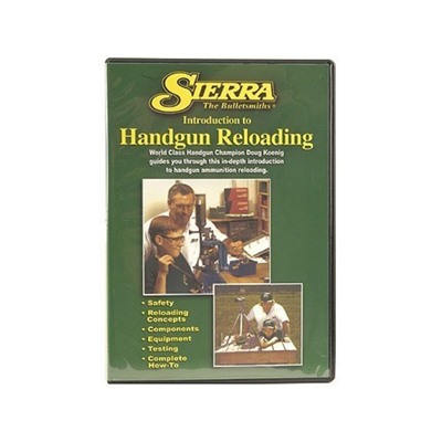 Beginning Handgun Reloading Dvd Sierra Bullets, Inc..
