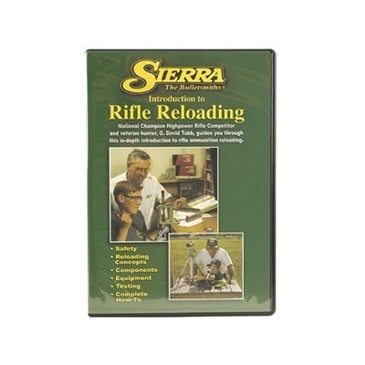 Beginning Rifle Reloading Dvd Sierra Bullets, Inc..