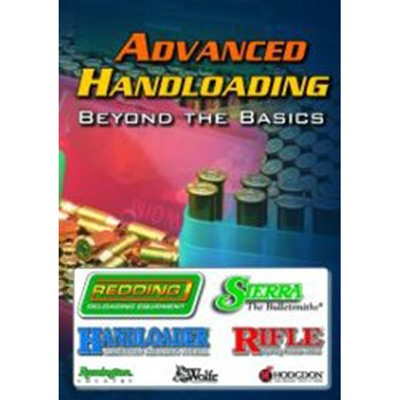 Advanced Handloading - Beyond The Basics Dvd Sierra Bullets, Inc..