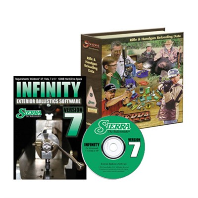 Reloading Manual-5th Edition And Infinity Software-Version 7 Sierra Bullets, Inc..