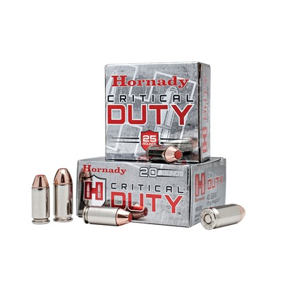 Critical Duty Ammo 10mm Auto 175gr Flexlock Hornady.