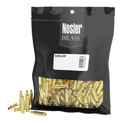 Click here to buy 22 Nosler Unprepped Brass by Nosler, Inc..