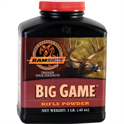 Ramshot Big Game Powders Ramshot Powder.