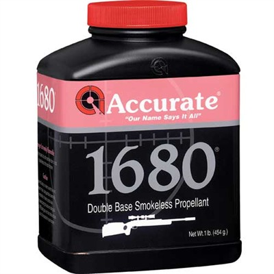 Accurate 1680 Powders Accurate Powder.