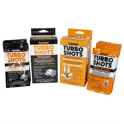 Turbo Shots Case Cleaning Packets Lyman.