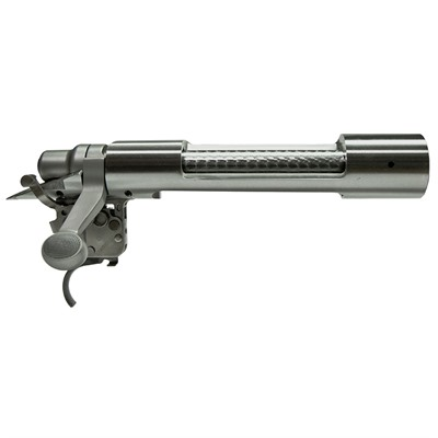 Factory Remington Left Hand Action, complete with bolt and X-Mark Pro Trigger. Stainless steel finish provides a custom look, and is ...