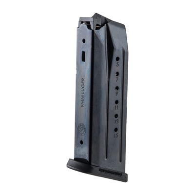 The genuine Ruger® Security-9® factory replacement magazine has been expressly designed to fit your Ruger® pistol.  9mm  Available ...