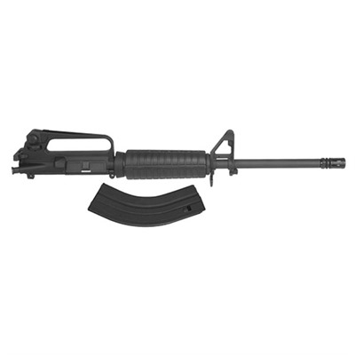 "This, the original 7.62x39 conversion for the AR15 is standard with a 16"" 416 SS barrel (1x10"" twist) with black oxide finish, ..."
