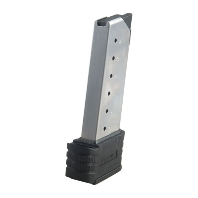 Same as the mags that came with your pistol, these stainless steel 9mm and .45 ACP magazines resist wear and corrosion for ...