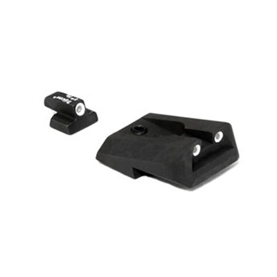 S&w Compact 9mm Novak Night Sight Set Trijicon.