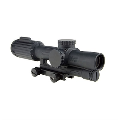 Vcog 1-6x24mm Segmented Circle/crosshair Mil Reticle Trijicon.