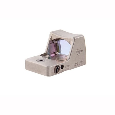 Rmr Type 2 Rm01 3.25 Moa Nickel Boron Led Reflex Sight Trijicon.