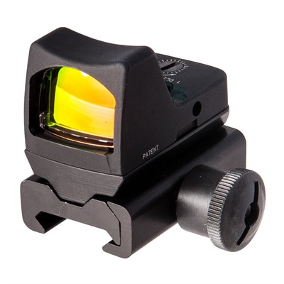Rmr Type 2 Rm01 3.25 Moa Led Reflex Sight With Rm34w Mount Trijicon.