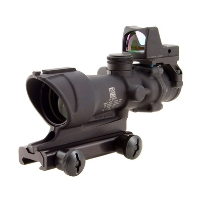 Acog 4x32mm Scope Crosshair .223 Reticle With Rm01 Rmr Trijicon.
