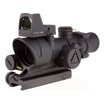 Acog 4x32mm Scope Led Crosshair .223 Reticle With Rm01 Rmr Trijicon.