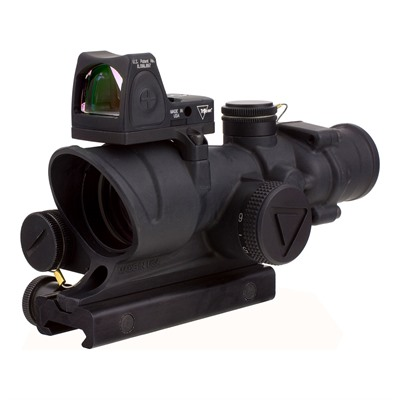 Acog 4x32mm Scope Led Crosshair .223 Reticle With Rm06 Rmr Trijicon.