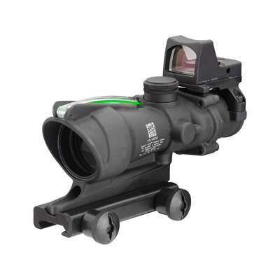 Acog 4x32mm Scope Dual Illum Chevron Reticle With Rm01 Rmr Trijicon.