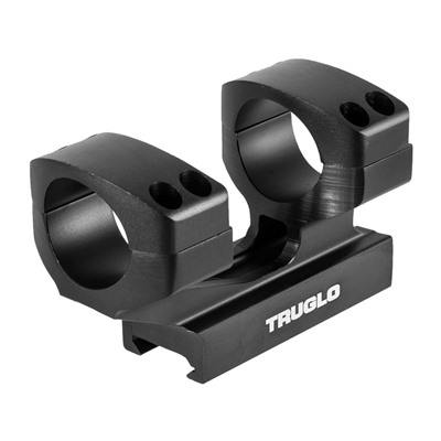 Tactical Picatinny Style Scope Mount 30mm Rings Truglo.