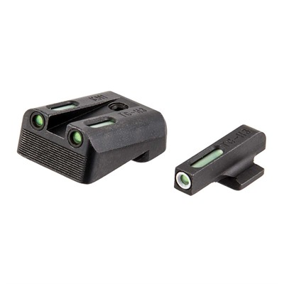 Kimber 1911 Tfx Tritium Fiber Optic Sight Set Truglo.