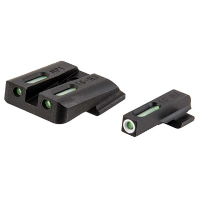 S&w M&p Tfx Tritium Fiber Optic Sight Set Truglo.