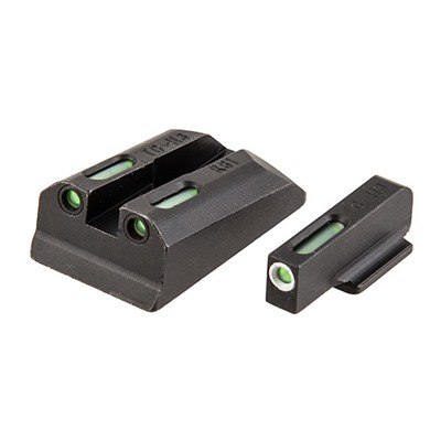 Sr9®/sr40®/sr45™ Tfx Tritium Fiber Optic Sight Set Truglo.