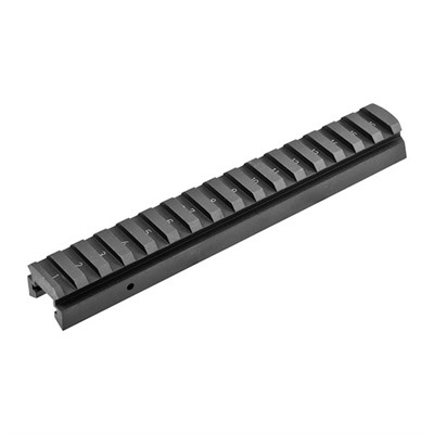 Direct Thread Lower Rail Picatinny Aluminum Black Beretta Usa.